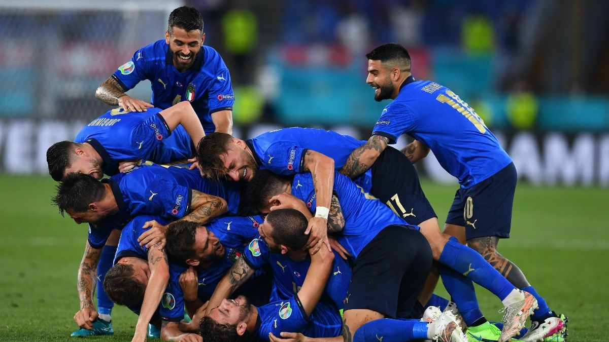 Euro 2020 Odds, Picks, Best Bets for Switzerland vs. Spain, Belgium vs. Italy (Friday, July 2) article feature image