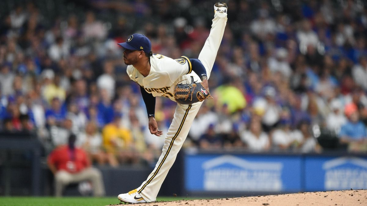 Sunday MLB Player Prop Bets & Picks: 2 Favorite Picks, Including Freddy Peralta & Kyle Hendricks (July 4) article feature image
