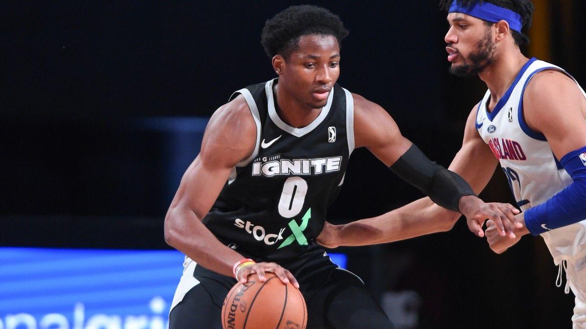 Jonathan Kuminga NBA Draft Profile & Outlook: Is G League Ignite Forward a Top-Five Pick? article feature image