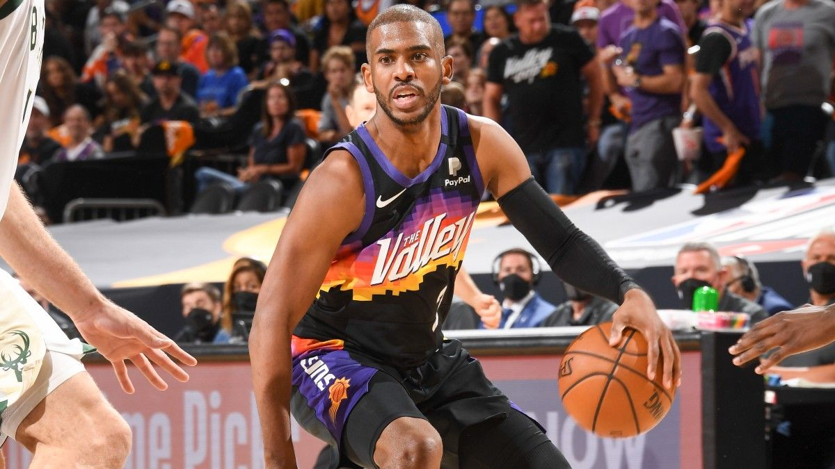 Bucks vs. Suns Game 2 Player Prop Bets, Picks: 3 Plays for Thursday's NBA Finals, Including Chris Paul (July 8) article feature image