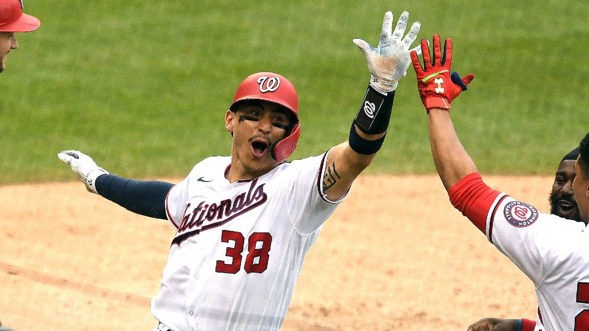 Marlins at Nationals Odds, Picks, Predictions: Take Nats Team Total in Monday Series Opener article feature image