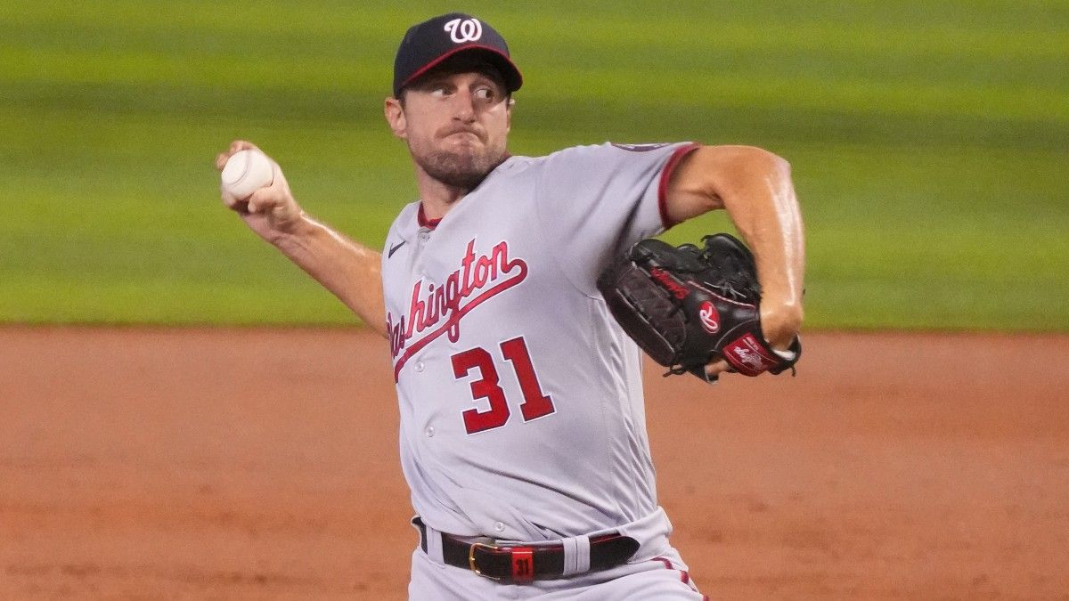 MLB Player Prop Bets & Picks for Sunday: 3 Strikeout Totals, Including Max Scherzer & Chris Bassitt (July 18) article feature image