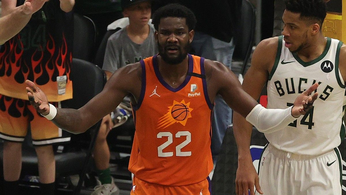Bucks vs. Suns NBA Finals Game 5 Player Prop Bets: 3 Picks, Including Deandre Ayton and Mikal Bridges (Saturday, July 17) article feature image