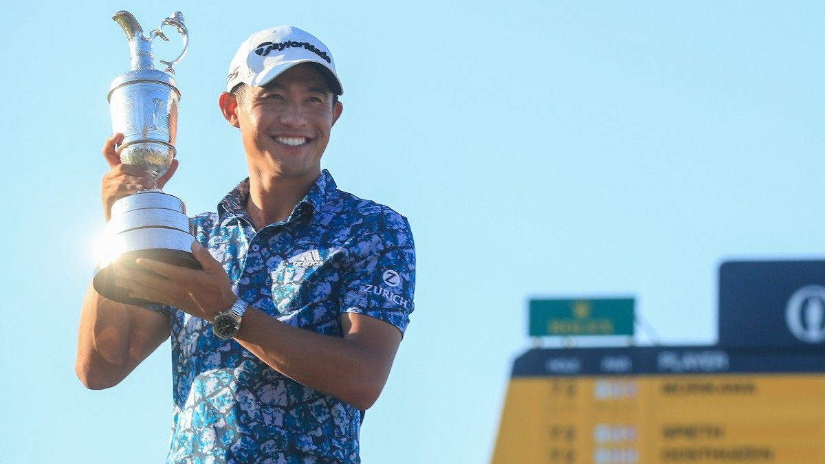 2021 British Open: Collin Morikawa Wins The Open as Golf's Greatest Contradiction article feature image