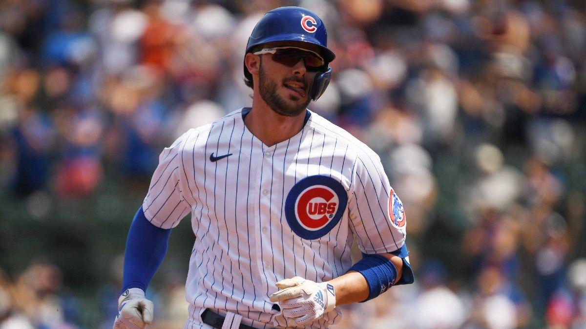 MLB Odds, Picks, Predictions: 3 Prop Bets, Including Kris Bryant, Patrick Corbin & Jorge Lopez (July 28) article feature image