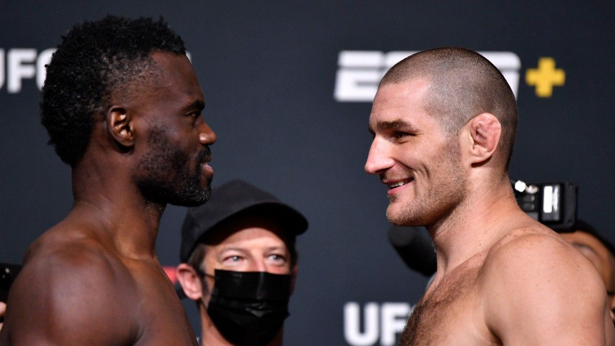 Uriah Hall vs. Sean Strickland Odds, Pick & UFC Fight Night Main Event Prediction (Saturday, July 31) article feature image