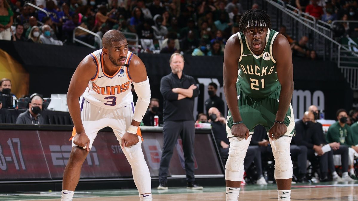 Suns vs.Bucks Game 4 Player Prop Bets, Picks: 9 Series Wagers to Make Before Wednesday's NBA Finals (July 14) article feature image