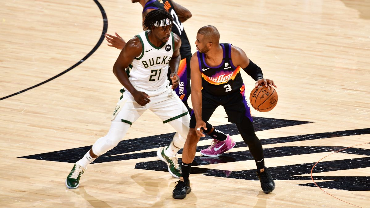 Enter the DraftKings Free-to-Play Suns vs. Bucks $1,000 Prize Pool! article feature image