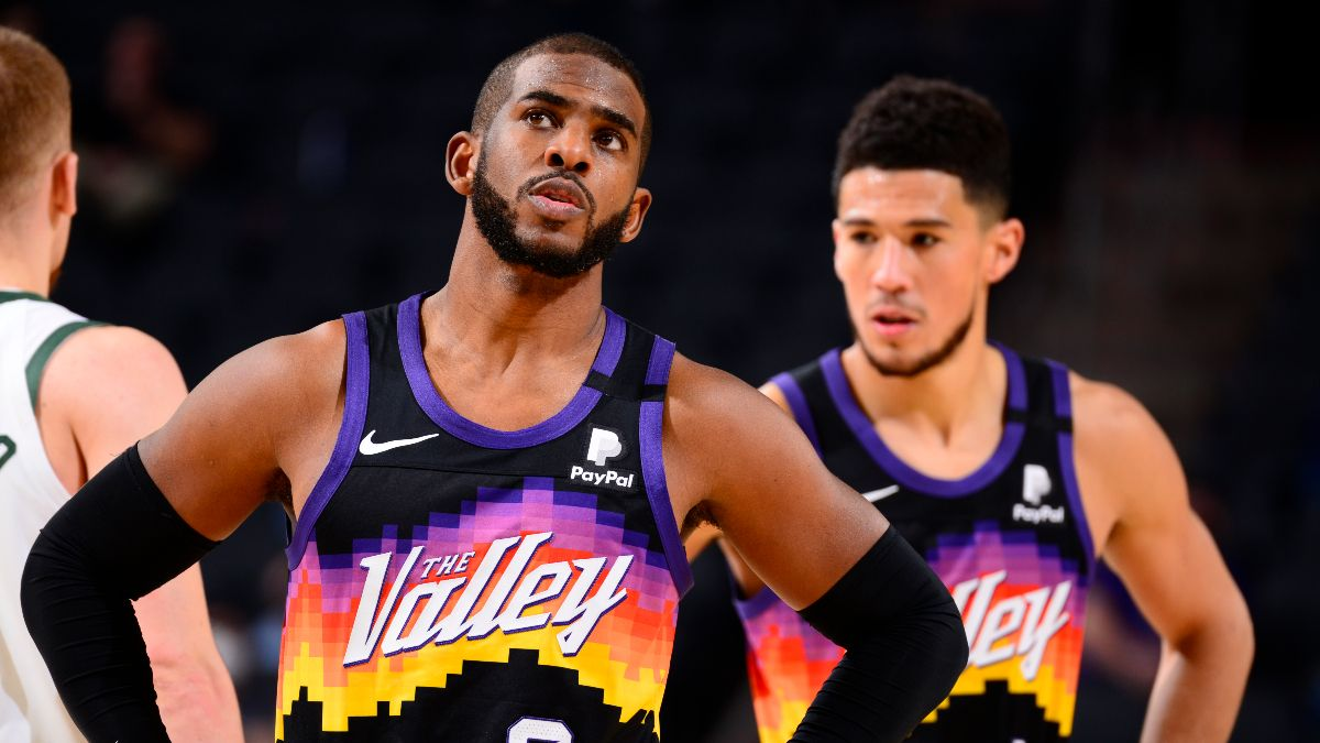 How to Bet the Phoenix Suns This Season: NBA Title, Western Conference, MVP Odds & More article feature image