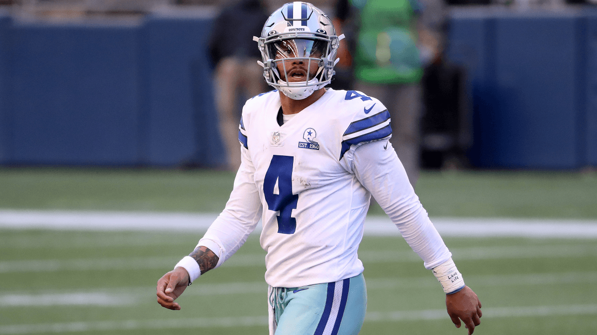 2021 NFL Quarterback Passing Yards Totals & Odds: Expectations High for Dak Prescott article feature image