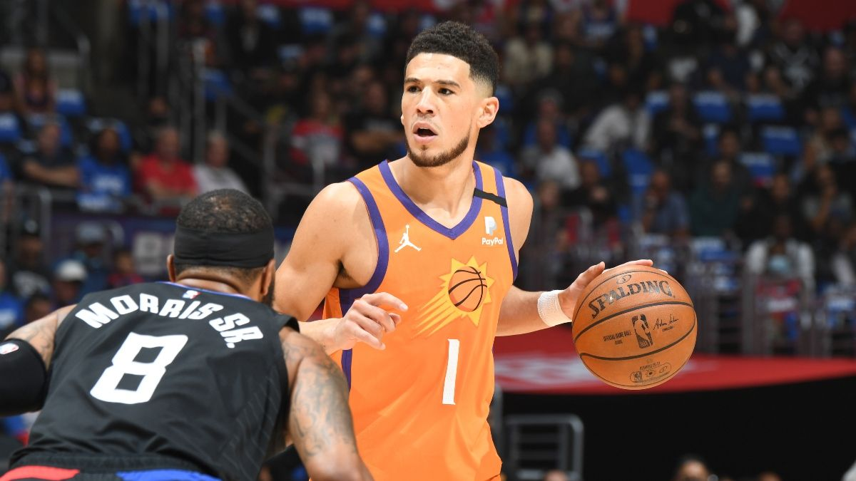 NBA Finals Odds, Promo: Bet $20, Win $200 if Devin Booker Scores article feature image