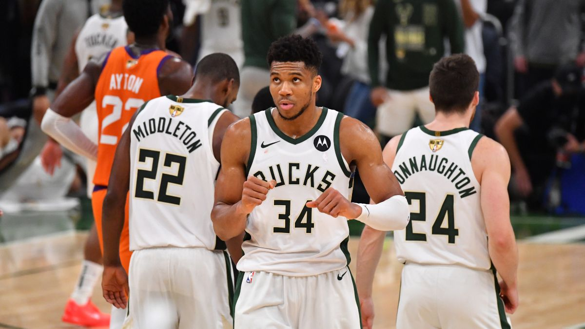 NBA Finals Game 6 Odds, Suns vs. Bucks Preview, Prediction: Will Milwaukee Hoist the Trophy at Home? (July 20) article feature image