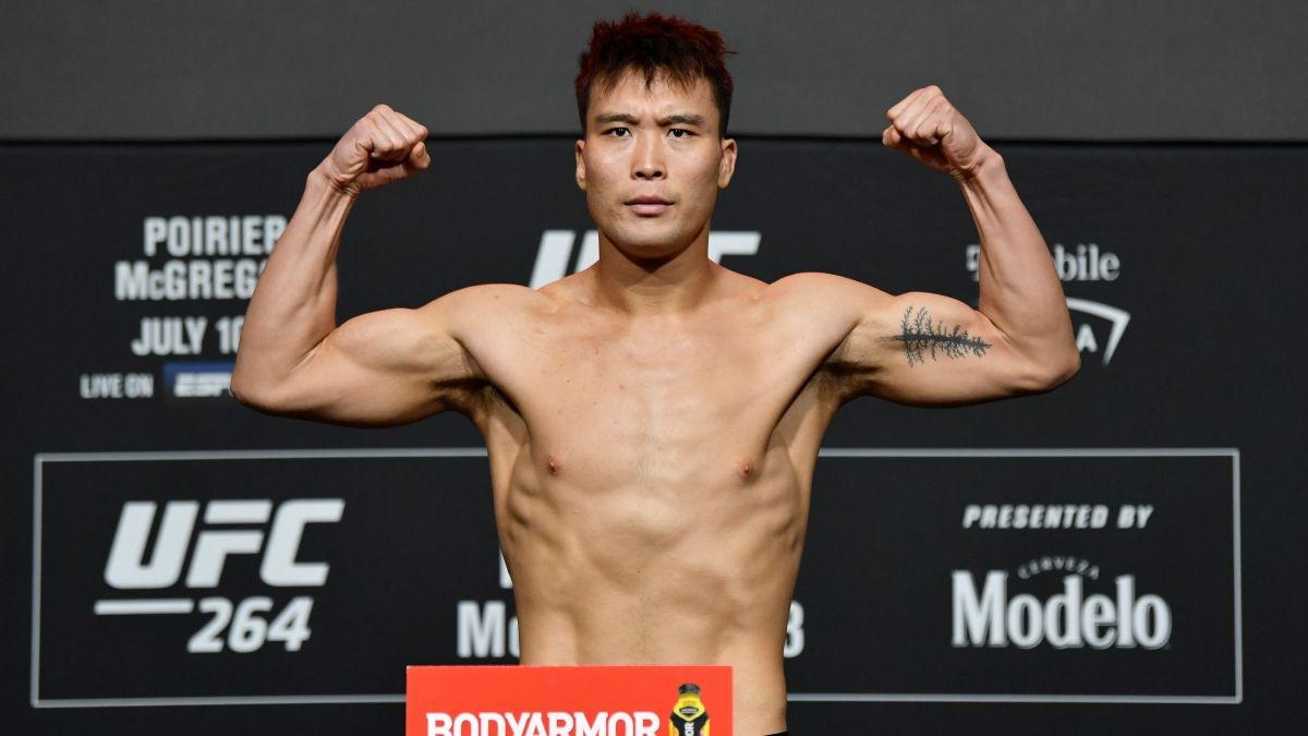 Hu Yaozong vs. Alen Amedovski UFC 264 Odds, Pick & Prediction: Find Value in Opening Prelim Fight (Saturday, July 10) article feature image
