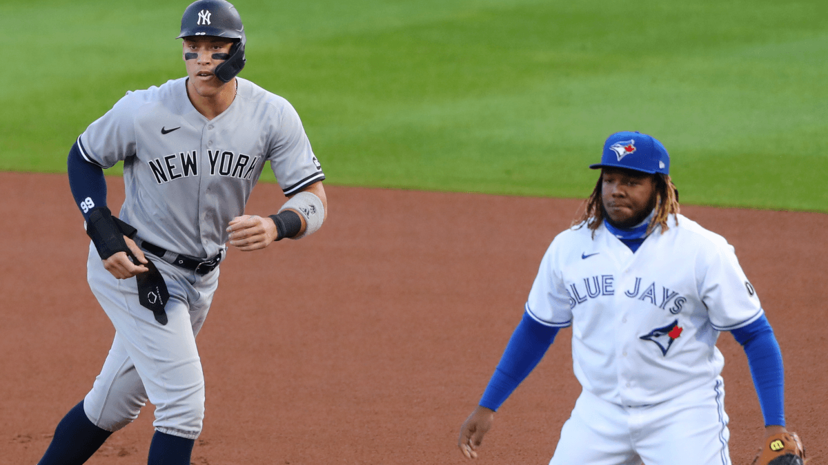 2021 MLB All-Star Game Player Props: Aaron Judge, Vladimir Guerrero Jr. Among Favorites to Homer at Coors Field article feature image
