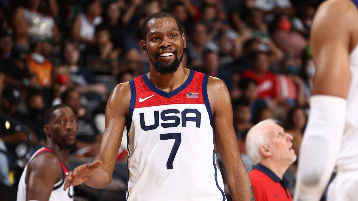 2021 Olympic Men's Basketball Schedule, Bracket & Results: USA-France Rematch Set for Gold Medal Game article feature image