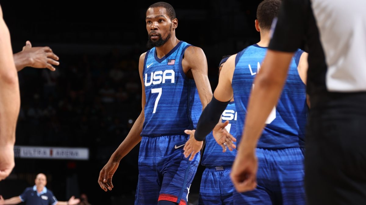 USA vs. Spain Olympic Exhibition Betting Odds, Picks, Predictions: How To Bet Final Game Before Tokyo (July 18) article feature image