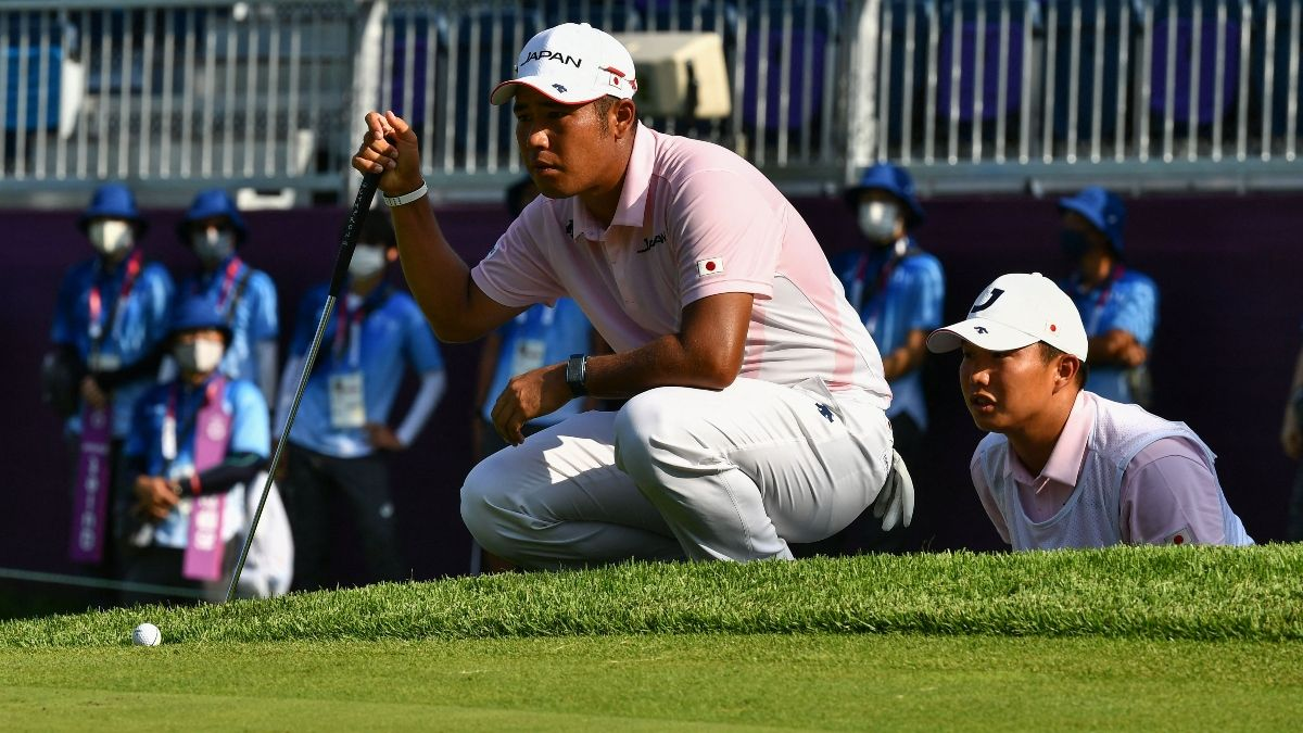 2021 Tokyo Olympics Men's Golf Final Round Best Bets: Back Hideki Matsuyama to Win Gold Medal article feature image