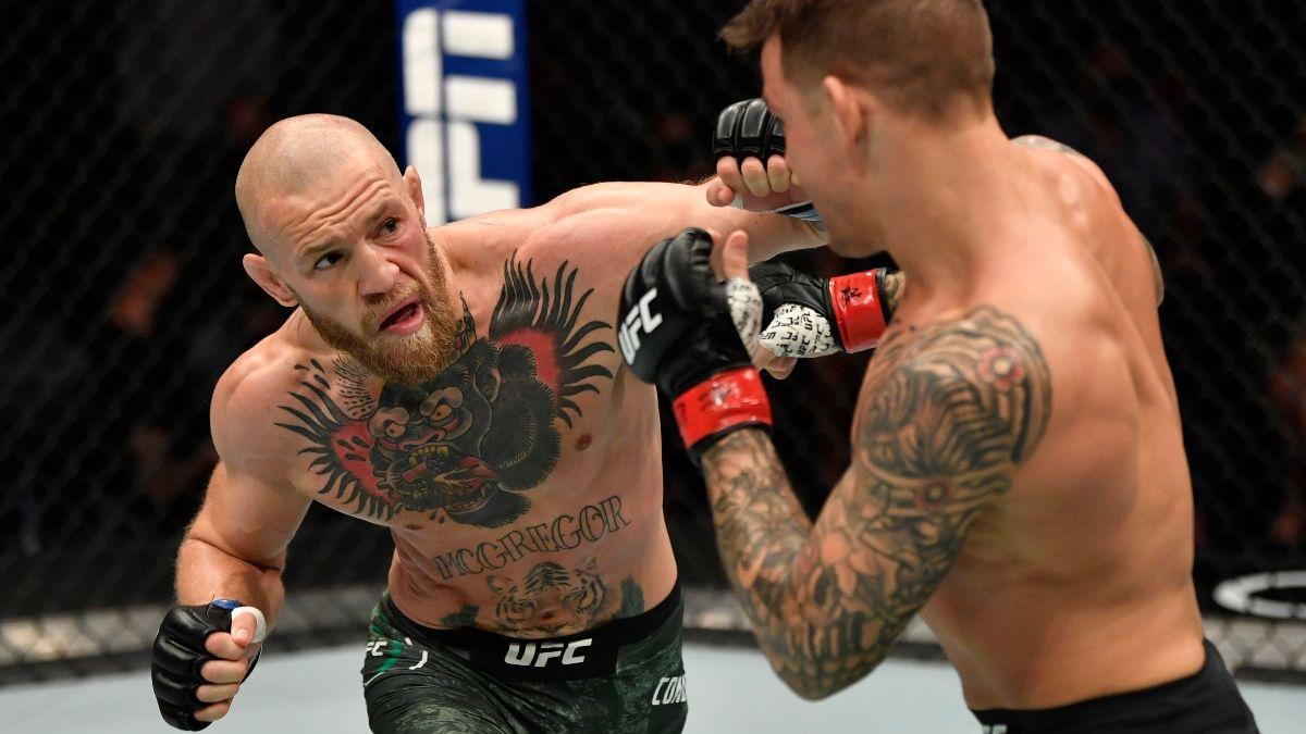 UFC 264 McGregor vs. Poirier 3 Odds, Promo: Bet $20, Win $200 if McGregor Lands a Punch article feature image