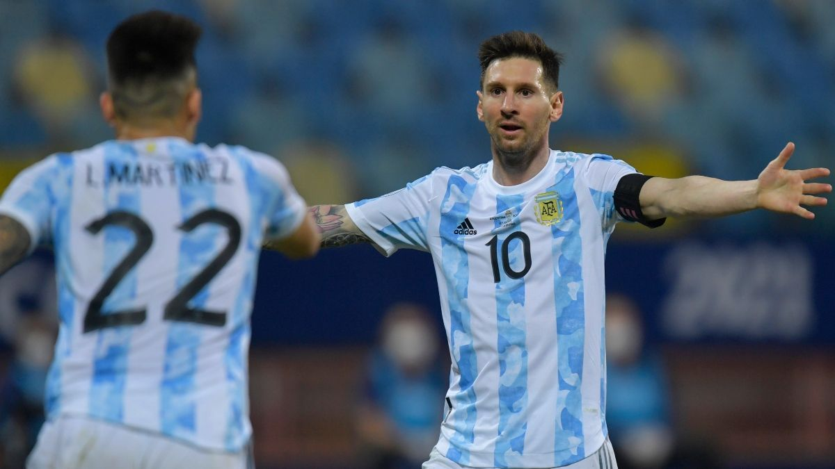 Argentina vs. Colombia Odds, Picks, Predictions, Preview: How to Back Messi in Copa América Semifinal (July 6) article feature image