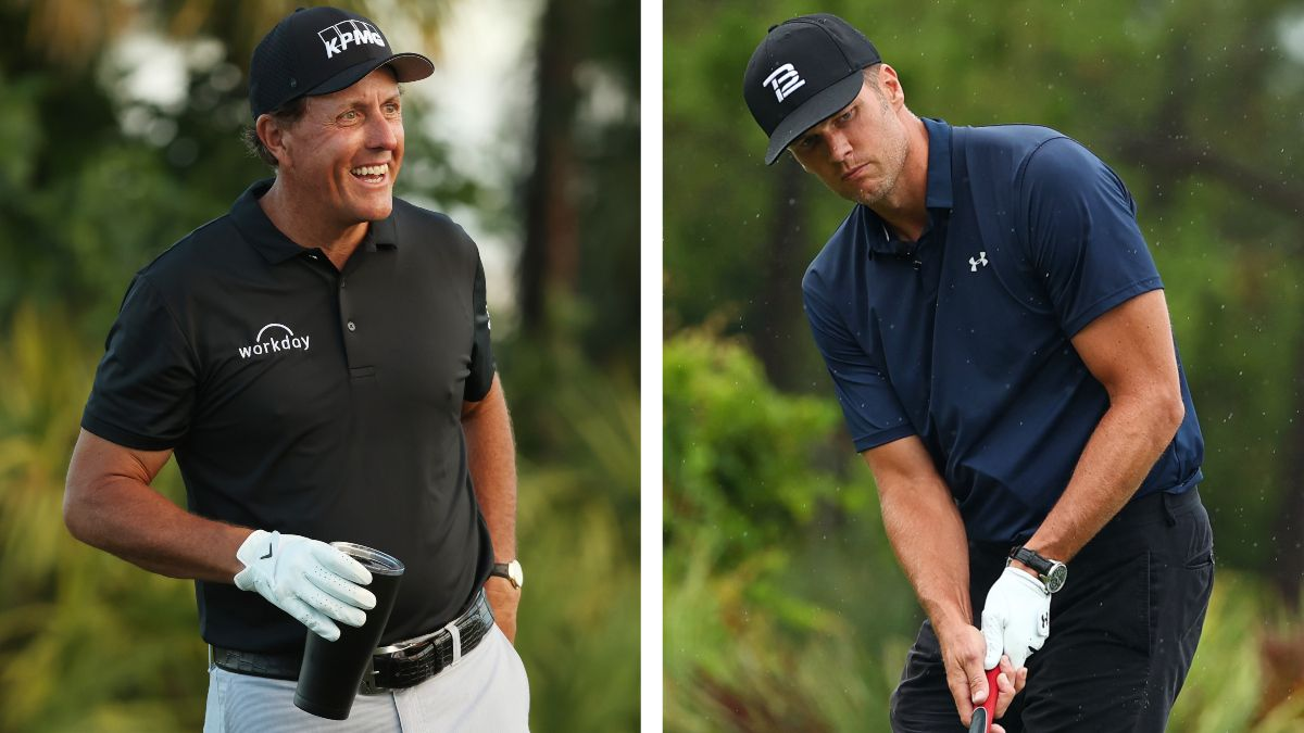 The Match IV Odds, Picks, Predictions: How to Bet Mickelson & Brady vs. Bryson & Rodgers article feature image