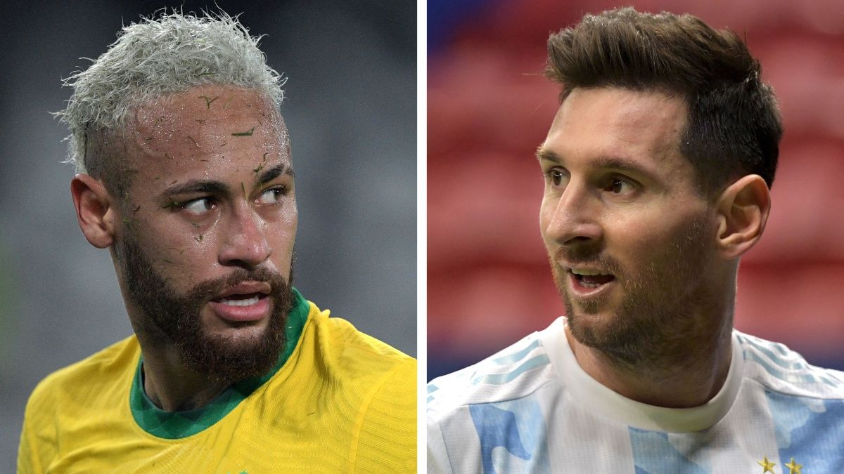 Argentina vs. Brazil Copa América Odds, Picks, Predictions, Preview: How To Bet Messi vs. Neymar (July 10) article feature image