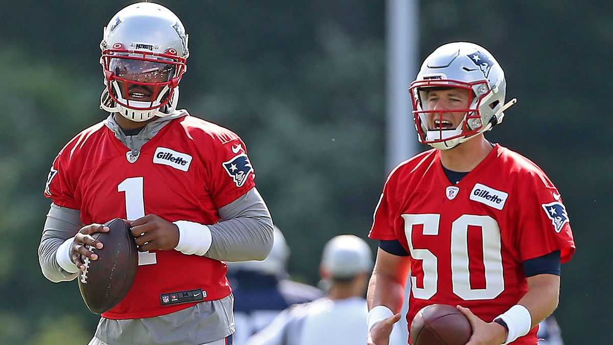 Patriots Super Bowl Odds, Win Total, More Futures: What To Expect After Busy Offseason article feature image