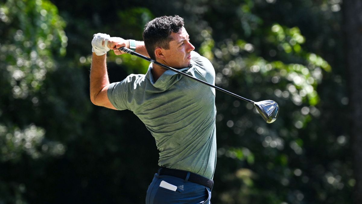 2021 Tokyo Olympics Men's Golf Round 2 Favorite Bets: Back Rory McIlroy to Win Gold for Ireland (July 29) article feature image