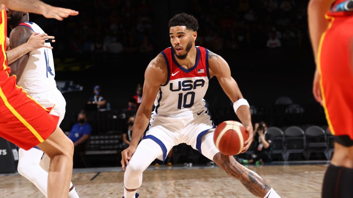 Betfred Sports Olympics Basketball Promo: Bet $20, Win $100 if Team USA Scores a Point article feature image