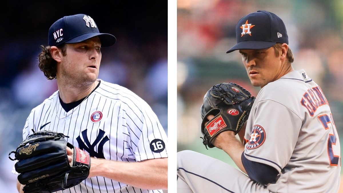 Yankees vs. Astros Odds, Predictions & Preview: Back Gerrit Cole or Zack Greinke? article feature image