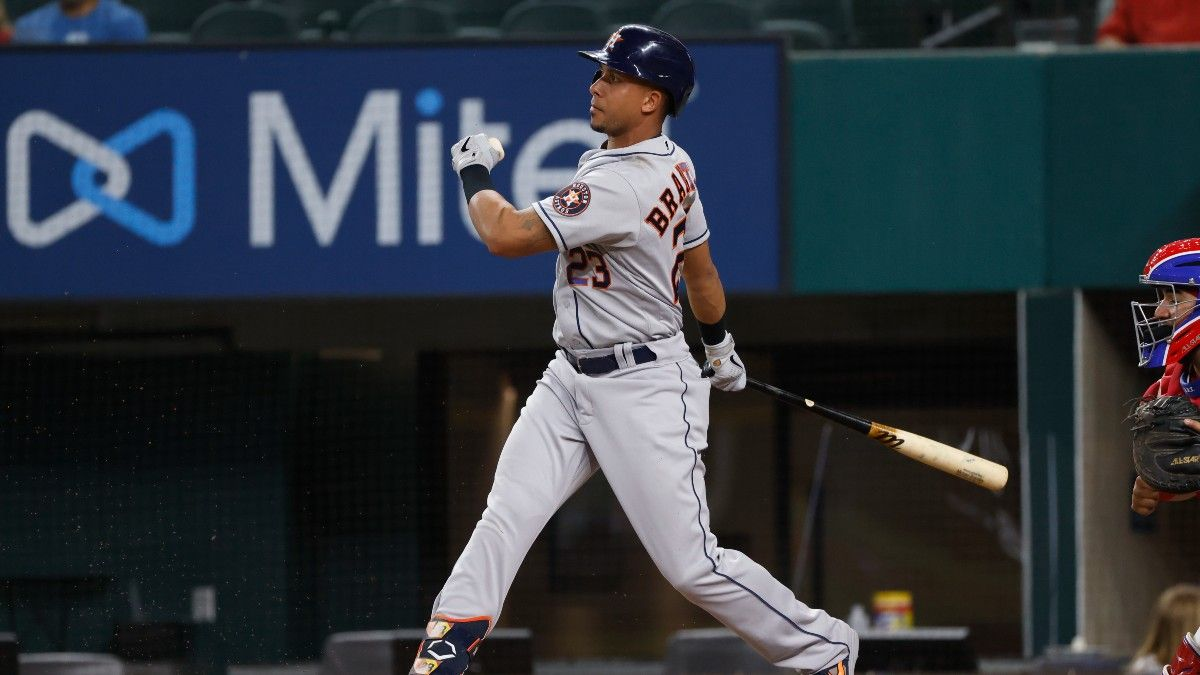 Wednesday MLB Player Prop Bets & Picks: Back Brantley and Carrasco article feature image