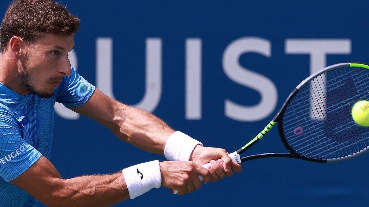 ATP Winston-Salem and U.S. Open Qualifier Tennis Odds & Picks: Carreno Busta on Upset Alert (Thursday, August 26) article feature image