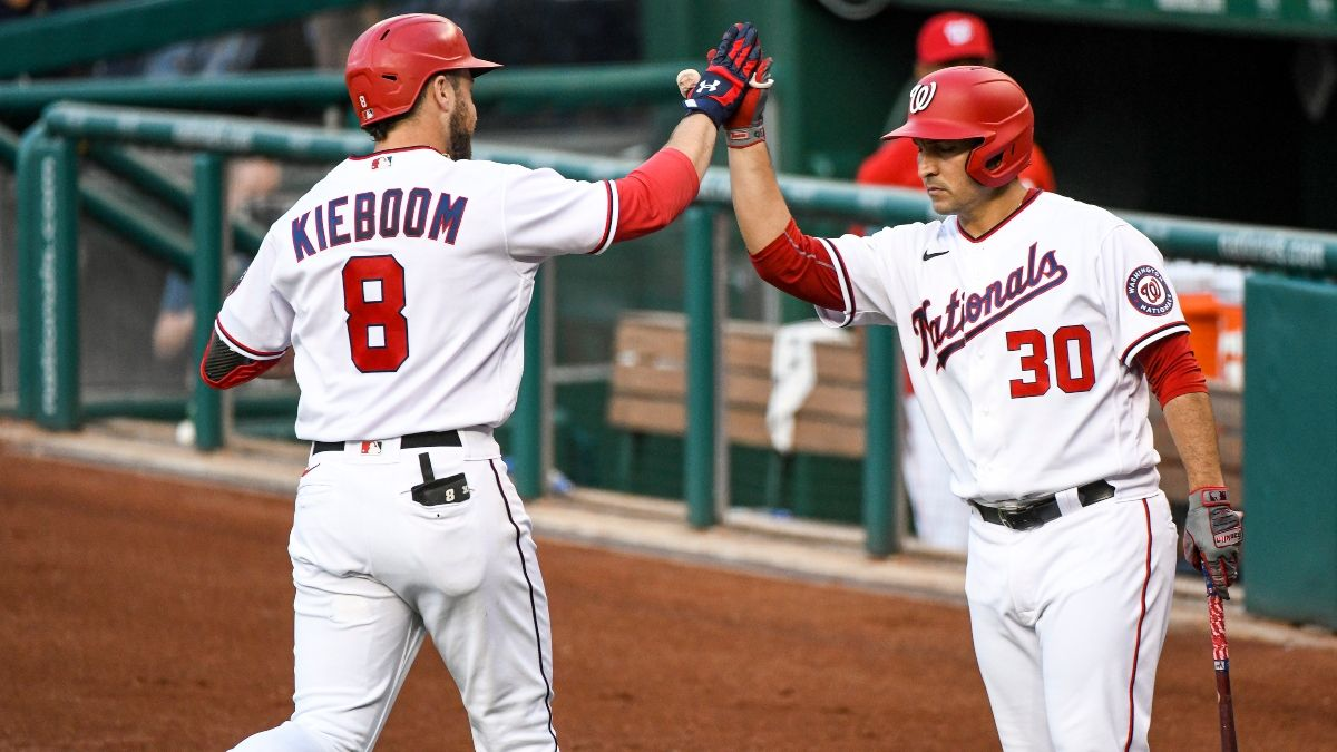 Phillies vs. Nationals MLB Odds, Picks & Predictions: Thursday's Classic Sharps vs. Squares Showdown article feature image