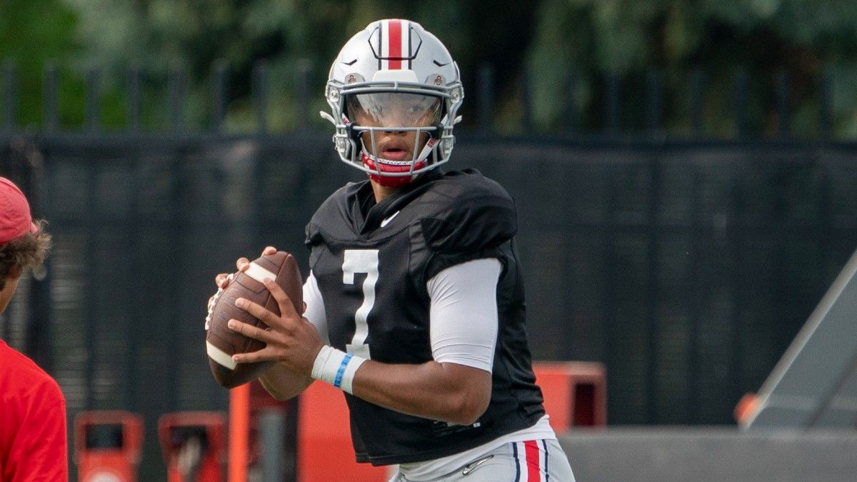 College Football Quarterback Battles: Playoff Contenders With Uncertainty Under Center article feature image