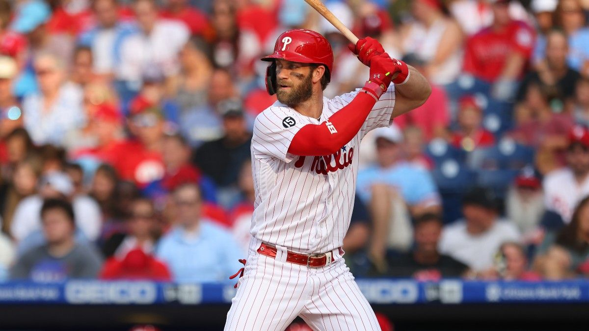 Nationals vs. Phillies Odds, Predictions, Preview: Can Bryce Harper Stay Hot at the Plate? (August 5) article feature image
