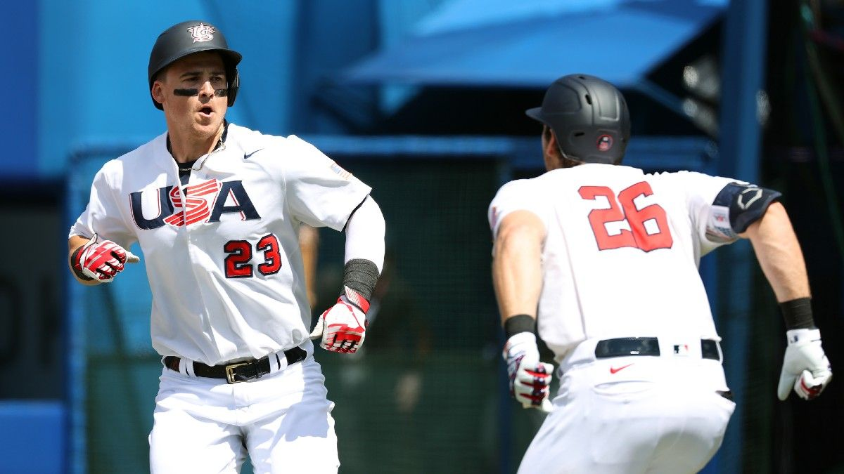 Team USA Baseball vs. South Korea Olympics Odds, Picks, Prediction: Who Will Advance to Gold Medal Game in Tokyo? (Thursday, August 5) article feature image