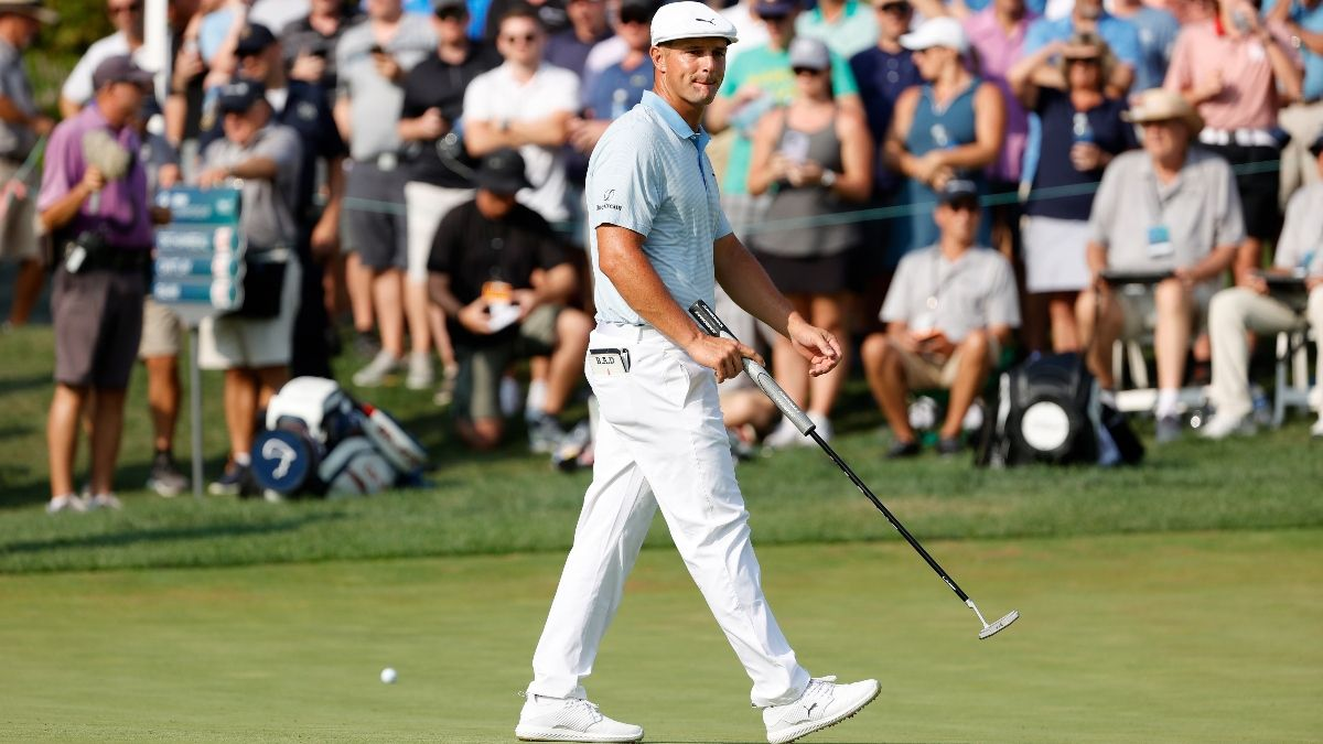 2021 BMW Championship Round 4 Buys & Fades: Stick with Bryson DeChambeau to Win Second FedExCup Playoffs Event article feature image