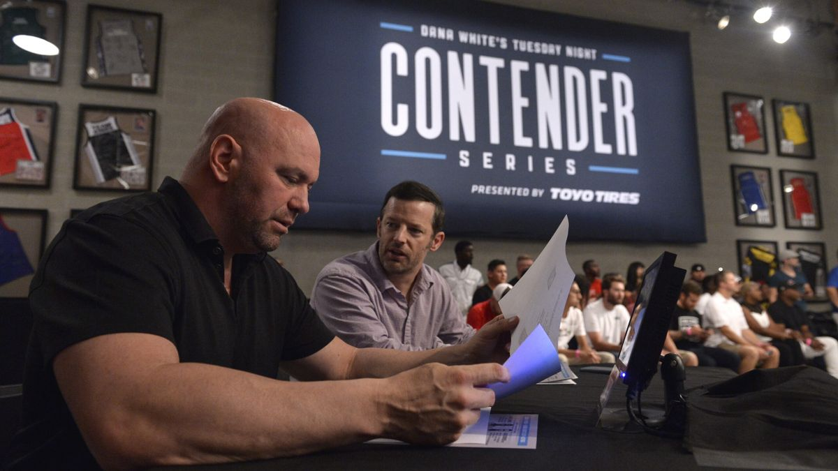 UFC Dana White's Contender Series Odds, Picks, Best Bets (Tuesday, Sept. 21) article feature image