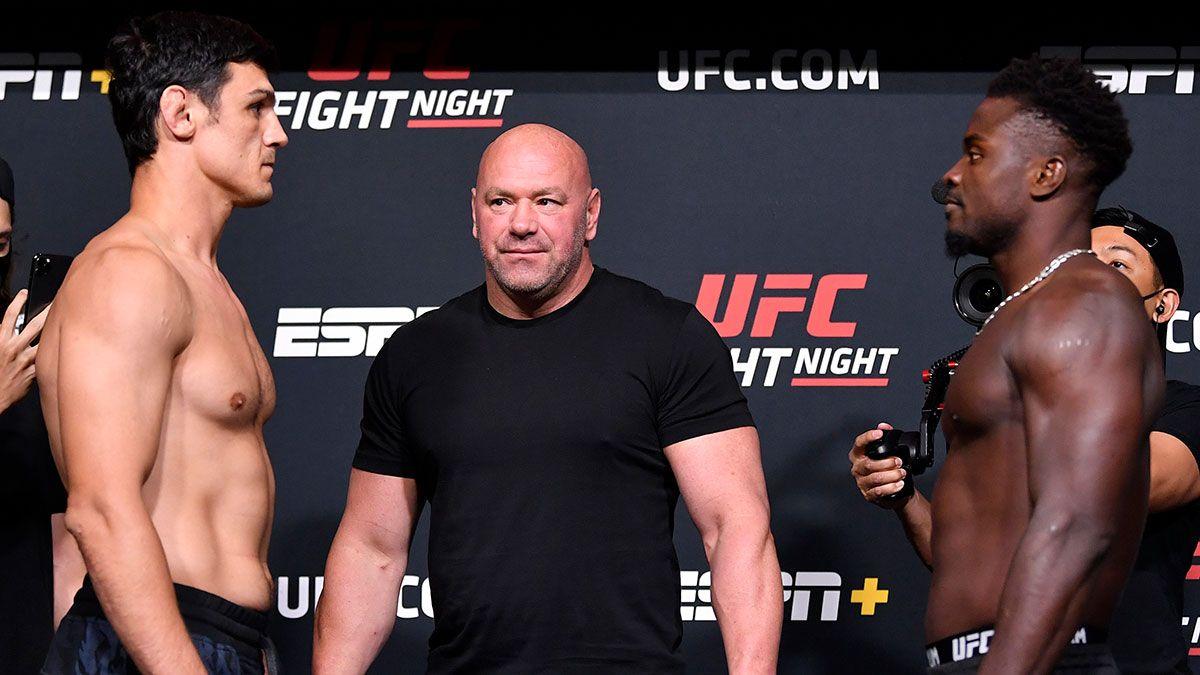 Alessio Di Chirico vs. Abdul Razak Alhassan UFC Fight Night Betting Odds, Pick & Prediction (Saturday, August 28) article feature image