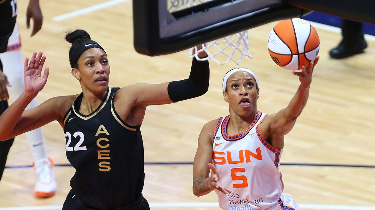 WNBA Odds, Picks & Predictions for Tuesday: 3 Best Bets, Including Aces vs. Sun, Sky vs. Dream & Storm vs. Lynx (Tuesday, August 24) article feature image