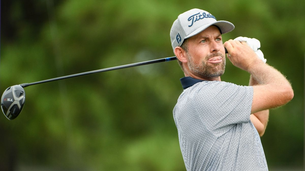 2021 Wyndham Championship First-Round Leader Bets, Picks & Prediction: Webb Simpson, Louis Oosthuizen Highlight Top Options article feature image