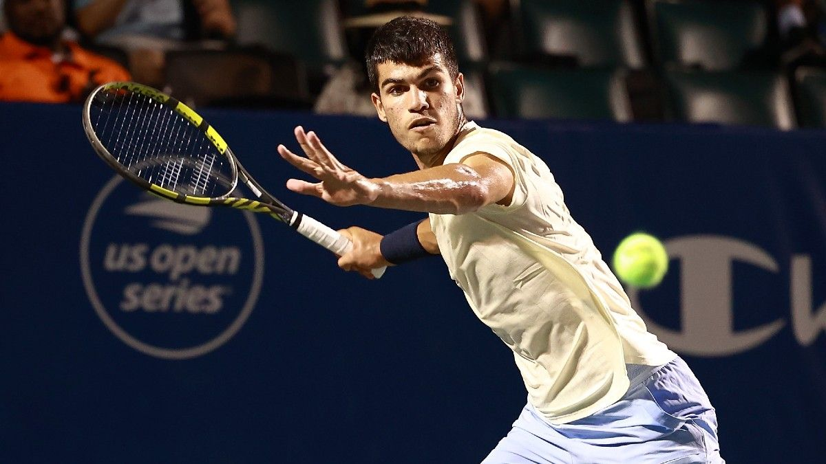 ATP Winston-Salem and U.S. Open Qualifier Tennis Odds & Picks, Including Alcaraz vs. Ymer (Friday, August 27) article feature image