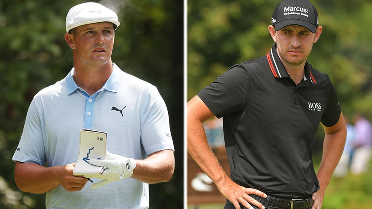 2021 BMW Championship Betting Odds: Bryson DeChambeau Favored Slightly Over Patrick Cantlay article feature image