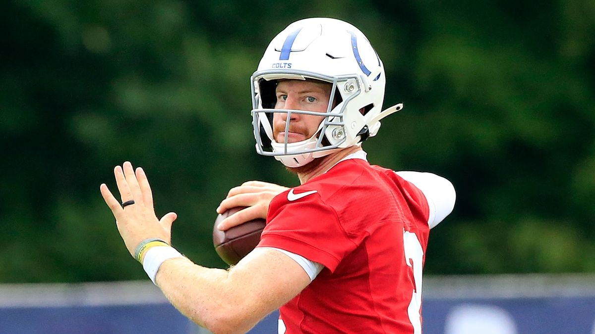 Colts vs. Rams Odds, Promos: Win $250 if Carson Wentz Completes a Pass, and More! article feature image