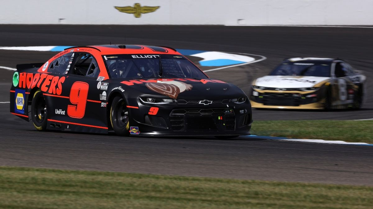 Updated NASCAR at Indianapolis Odds, Lines Following Qualifying for Sunday's Verizon 200 article feature image