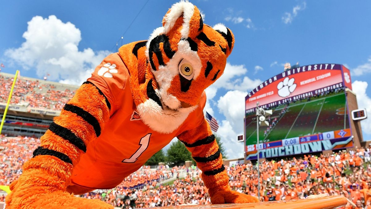 Clemson vs. Georgia Tech Odds, Promo: Bet $20, Win $205 if the Tigers Score a Touchdown! article feature image