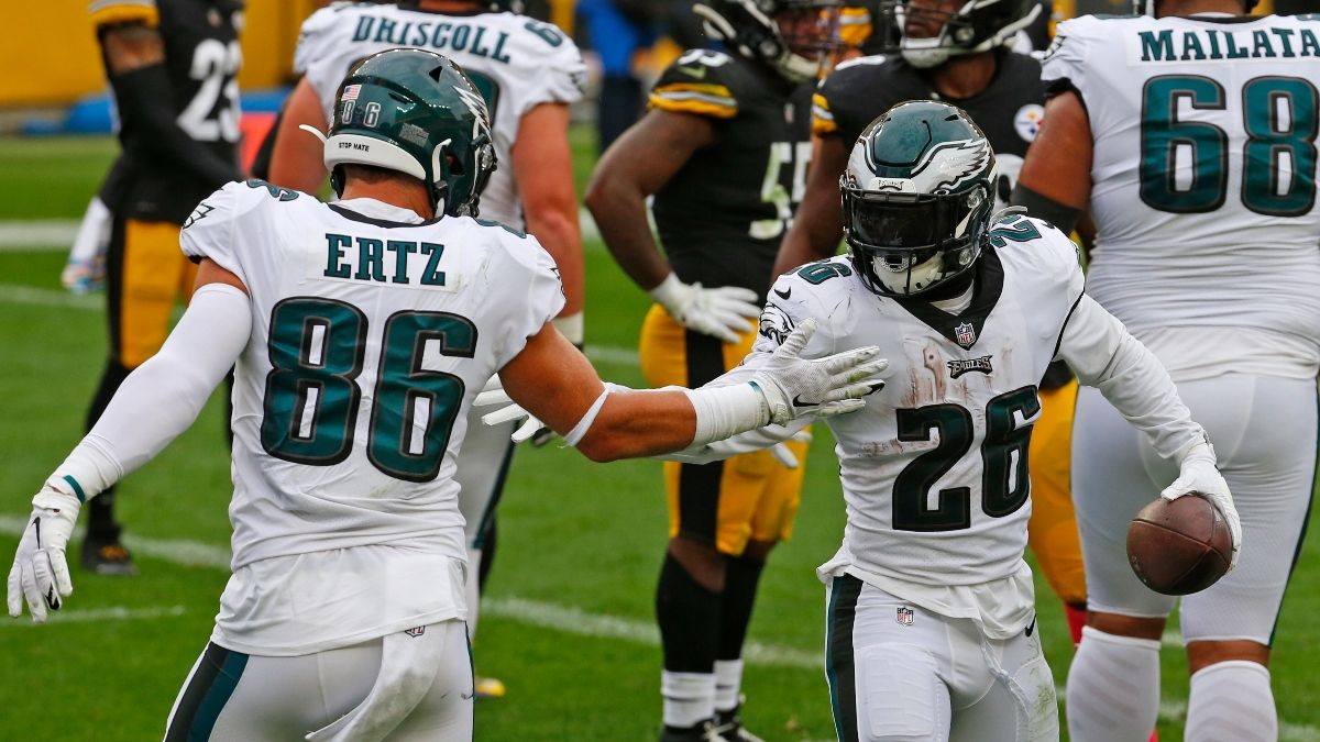 Eagles vs. Steelers Preseason Odds, Promo: Bet $25, Win $100 if Either Team Scores a Touchdown! article feature image