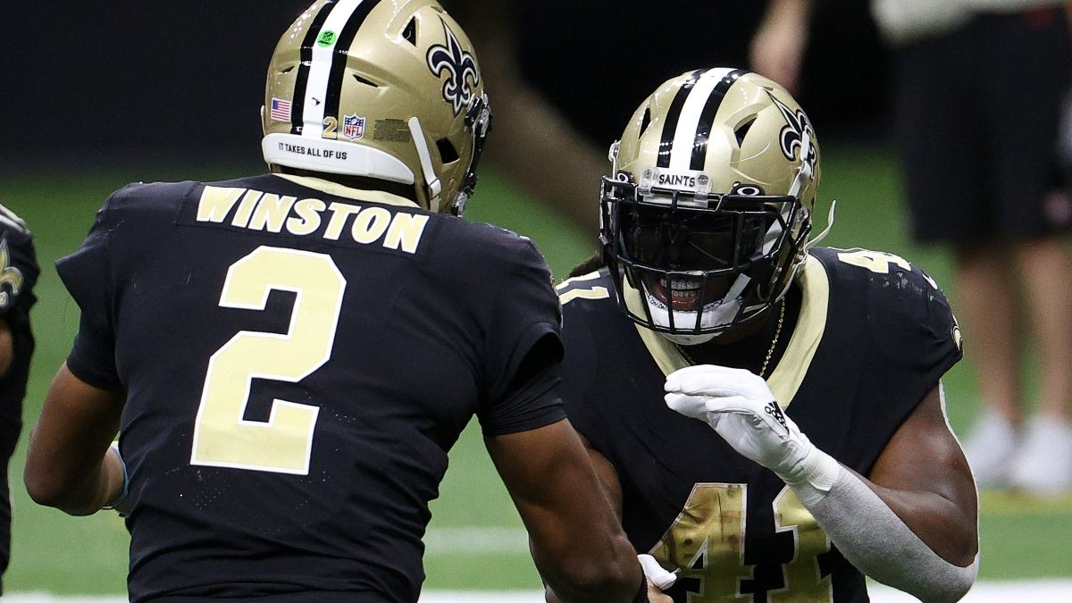 How Jameis Winston Impacts Fantasy Rankings For Marquez Callaway, Alvin Kamara, More Saints Players article feature image