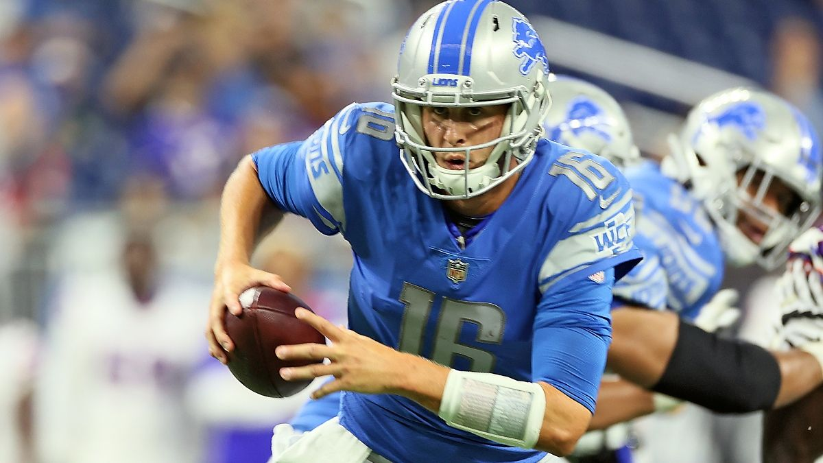 Lions vs. Bengals Odds, Promo: Bet $5,000 Risk-Free on the Lions! article feature image
