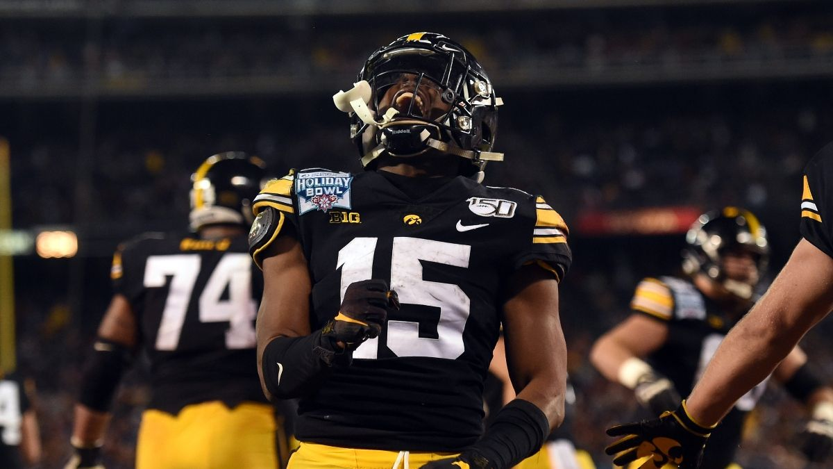 Iowa vs. Indiana Odds, Promo: Bet $20, Win $200 if Iowa Scores a Touchdown! article feature image