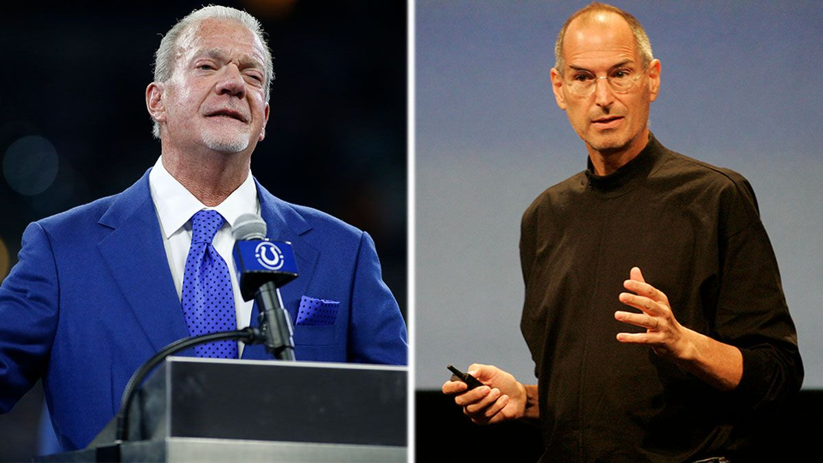 Colts Owner Jim Irsay Buys Steve Jobs-Signed Item for Nearly $800,000 article feature image